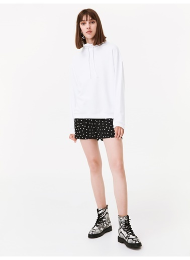 Twist Sweatshirt Krem